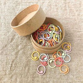 Maschenmarkierer, coloured split rings stitch markers, cocoknits
