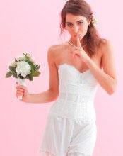 セミロングブラ&ウエストニッパー&フレアーパンツ3点セット【花嫁の補正美を低価格で実現したブライダルインナー】ゼクシィ首都圏版掲載