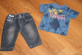 JB233 Kombi 68 dudu Jeans und Esprit Shirt