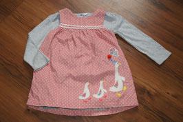 ME985 Gänsekleid baby Boden 92 und Shirt