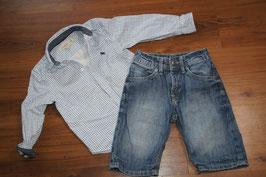 JE1095 Sommer Set H&M 104 Hemd/Jeans