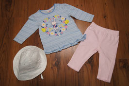 Mba124 Outfit inkl. Sommerhut 68
