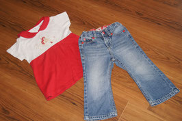 MD523 Oskars Mini Longshirt 86 dazu Hello Kitty Jeans 86