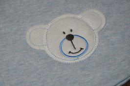 *neu* blau melange LITTLE Schlafsack 90cm
