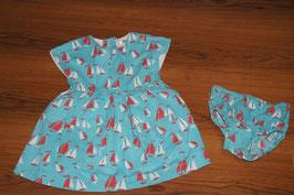 MD692 BabyBoden Kleid und Unterhose 12-18Monate