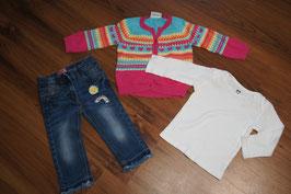 MC789 3tlg Outfit Rainbow