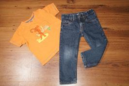 JE1036 Tigger Shirt und SLIM Jeans DENIM 92