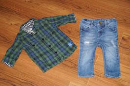 JB807 Wendehemd DKNY und Mexx Jeans 68