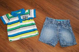 JC212 Sommer Kombi 74 Shirt und Jeans