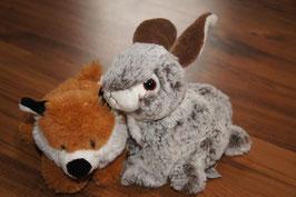Fuchs und Kaninchen(mega Uni Toys Echt wirkend)