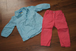 MD1029 5Pocket Hose und Bluse 80