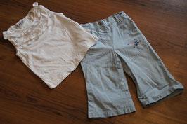 MD529 TÜPFEL Hose 86 und ein Shirt 86