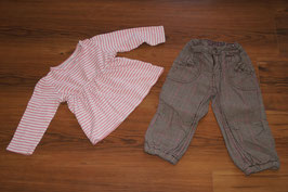MD851 Winterhose und LA Shirt 86/92