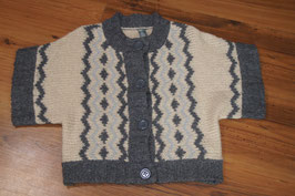 M16E Zara Kids  134 Strickjacke Wolle Mohair !!!!