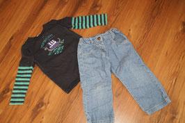 JE1077 Marken Jeans Set 92 Sommer