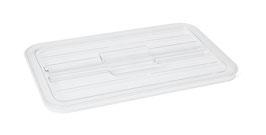 Polycarbonat-Flachdeckel K 111 transparent / 84200105