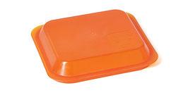 Domdeckel PP für Kaltsch. 1/9 orange/transp. / 84200158
