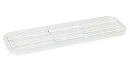 Polycarbonat-Flachdeckel K 241 transparent / 84200111