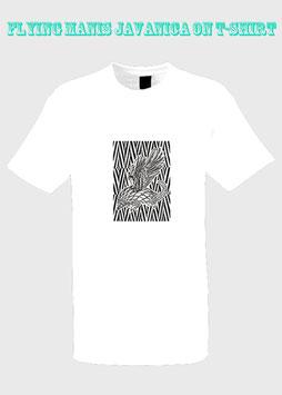 Flying Manis Javanica on T-Shirt