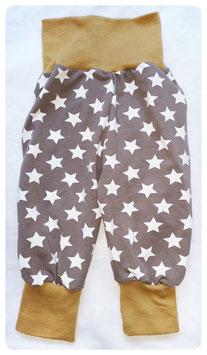 Pumphose Sterne Größe 74