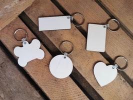 Schlüsselanhänger aus Holz beidseitig bedruckbar