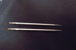 "1 Paar austauschbare Nadelspitzen 5"" sharp"