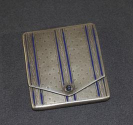 Art Deco zilveren lucifer doosje