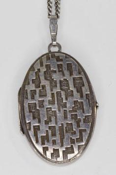 Kordes & Lichtenfels zilveren medaillon