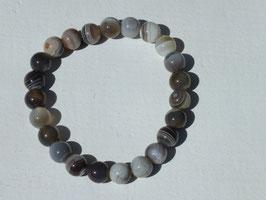 Bracelets en agate du Botswana