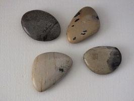 Jaspe porcelanite en pierres roulées