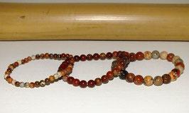 Bracelets en jaspe bréchique