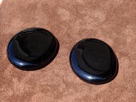 Obsidienne noire en palets roulés