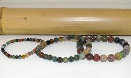 Bracelets en agate indienne