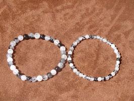 Bracelets en quartz tourmaline