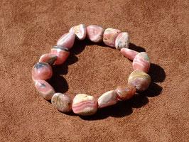 Bracelets en rhodochrosite (irréguliers)