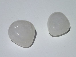 Quartz laiteux en pierres roulées