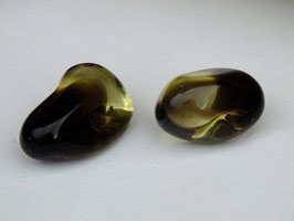 Prasiolite en pierres roulées