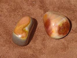 Jaspe polychrome en pierres roulées