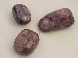 Charoïte en pierres roulées