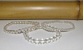 Bracelets en cristal de roche