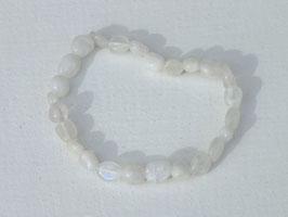 Bracelets en pierre de lune (irréguliers)