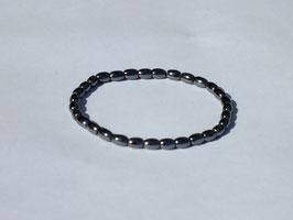 Bracelets en hématite grain de riz