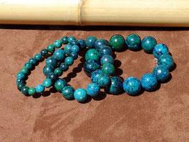 Bracelets en azurite-chrysocolle