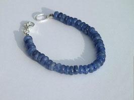 Bracelet en cyanite (BV057)