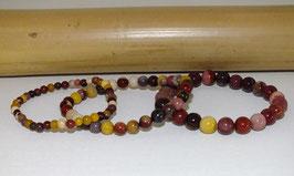 Bracelets en mokaïte
