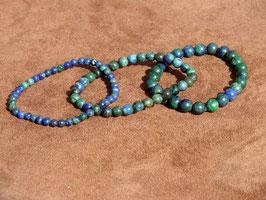 Bracelets en azurite-malachite