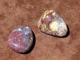 Piétersite en pierres roulées