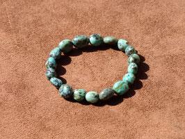 Bracelets en turquoise africaine (irréguliers)