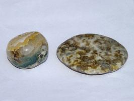 Jaspe océan en pierres roulées