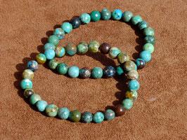 Bracelets en chrysocolle